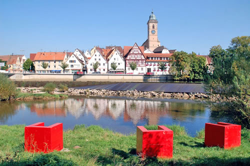 Neckar waterfront